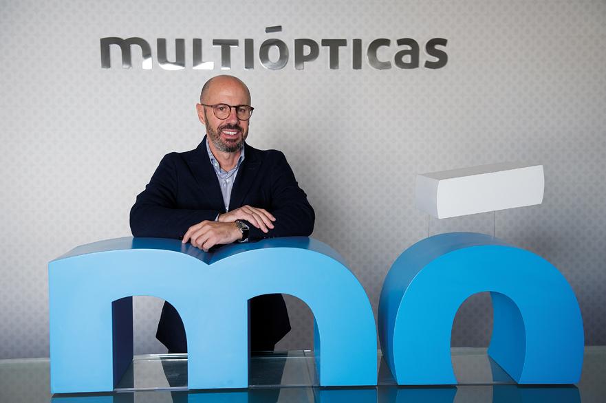 Carlos Piñeiro Presidente de Multiópticas