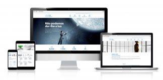 web cione en portugués
