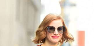 Jessica Chastain. Raymond Hall © Getty Images