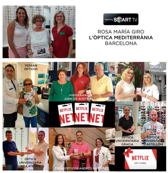 Collage con algunos de los ganadores de los premios Vimax Verano 2018