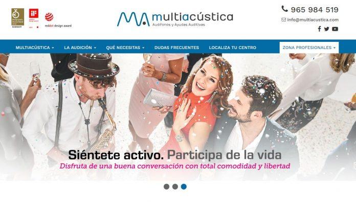 Multiacústica captura web