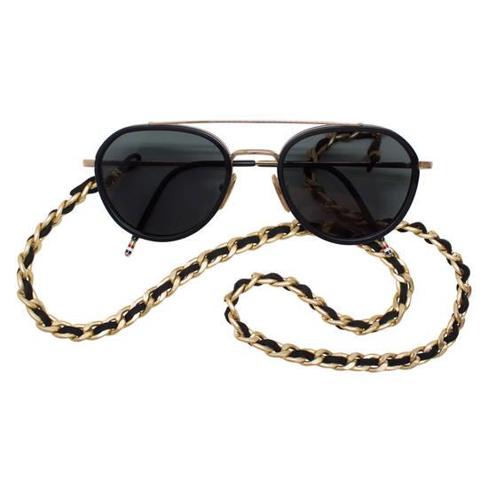 55876f031d Nuggets of Gold présente la chaîne des lunettes Electra - Optimoda