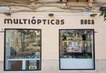 Aspecto del nuevo establecimiento Multiópticas en Melilla