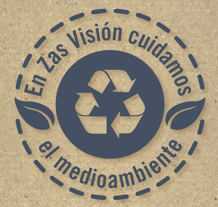 Zas Visión reduce su huella ecológica