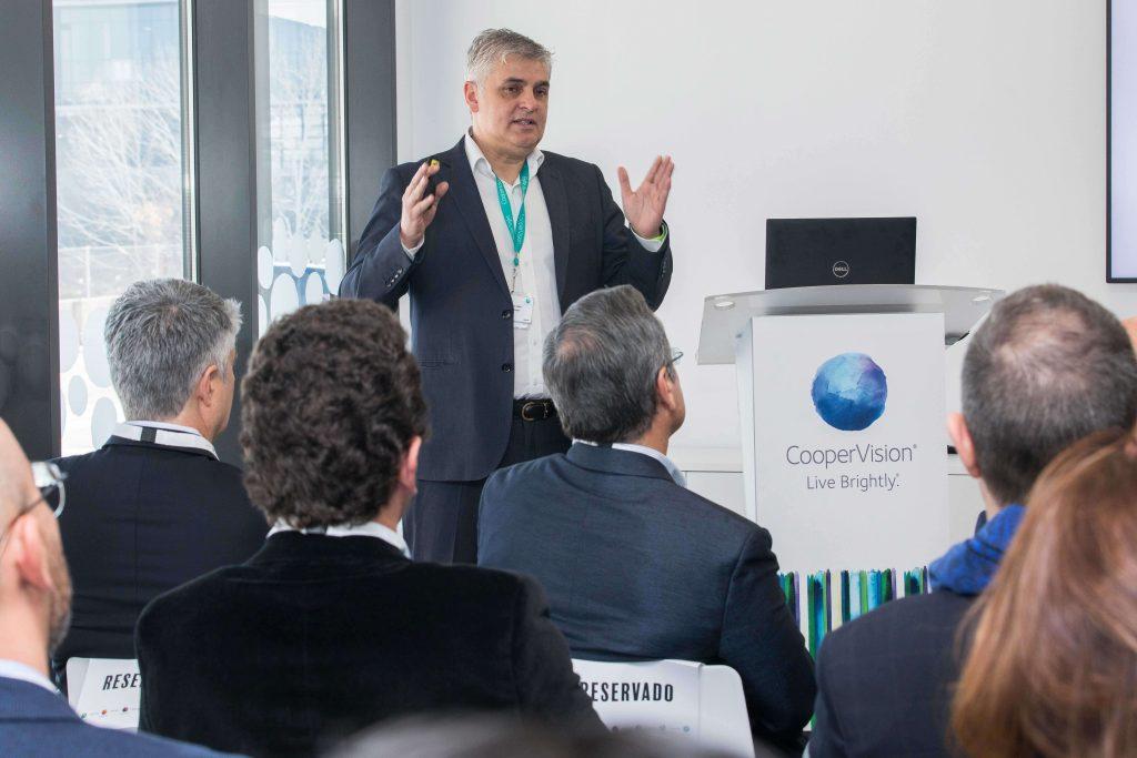 Alejandro Lara director general CooperVision Iberia