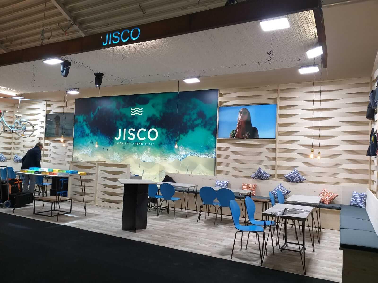 Stand de Jisco en Opti 2019