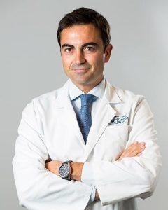Doctor Jorge García, director medico adjunto Clínica Rementería