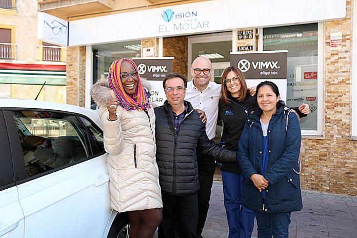 Segunda entrega de un Volkswagen Polo de la promoción Vimax