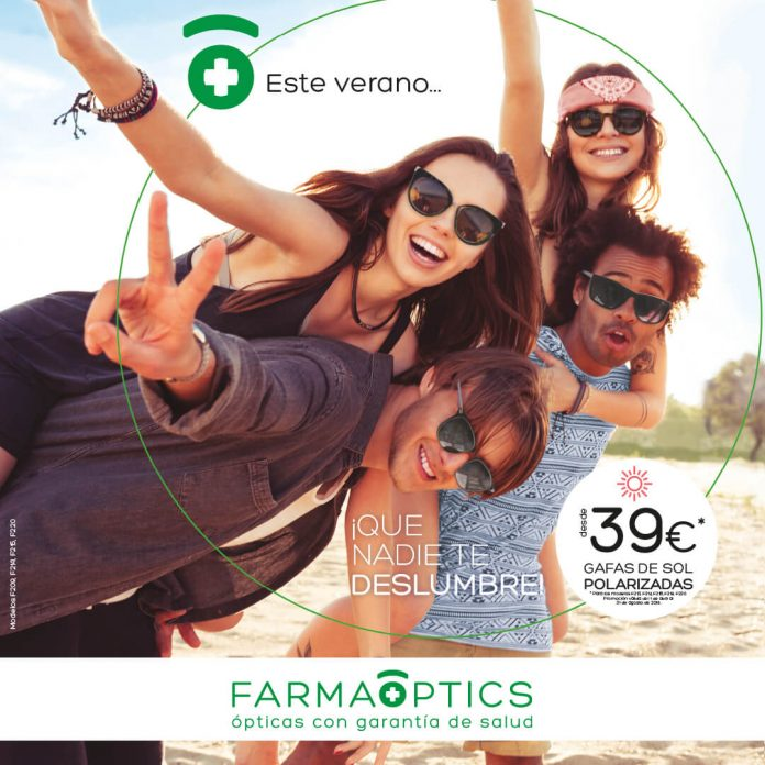 Imagen de la campaña Sol 2019 de Farmaoptics