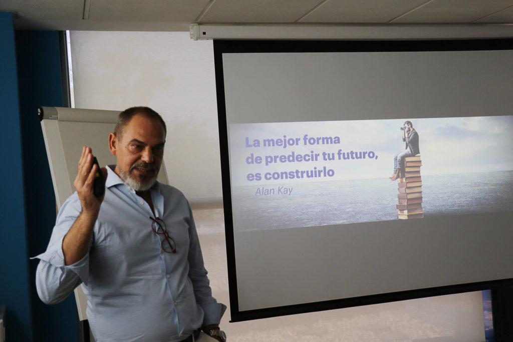 Miguel Angel García Plan Estratégico Cione