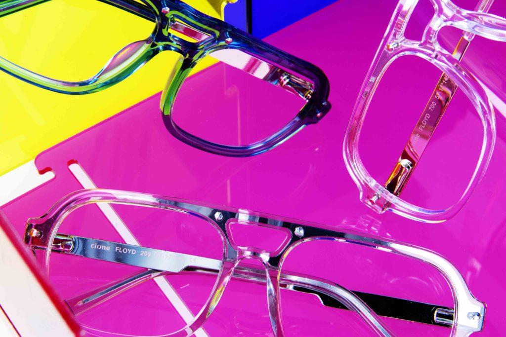 Cione lanza Cione marca de gafas