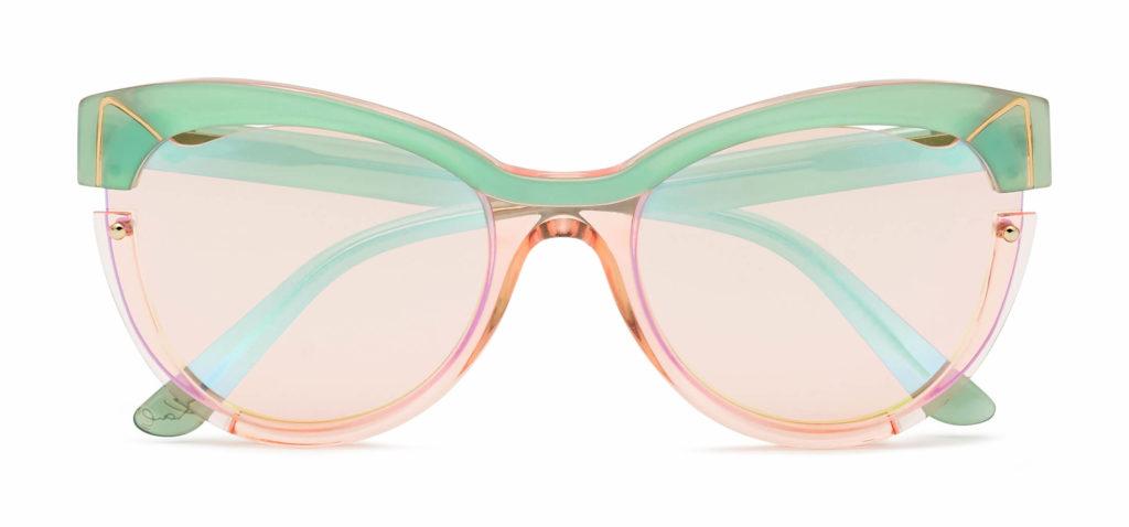 Nueva gafa de sol Karl Lagerfeld inspirada en su gata  'Choupette'