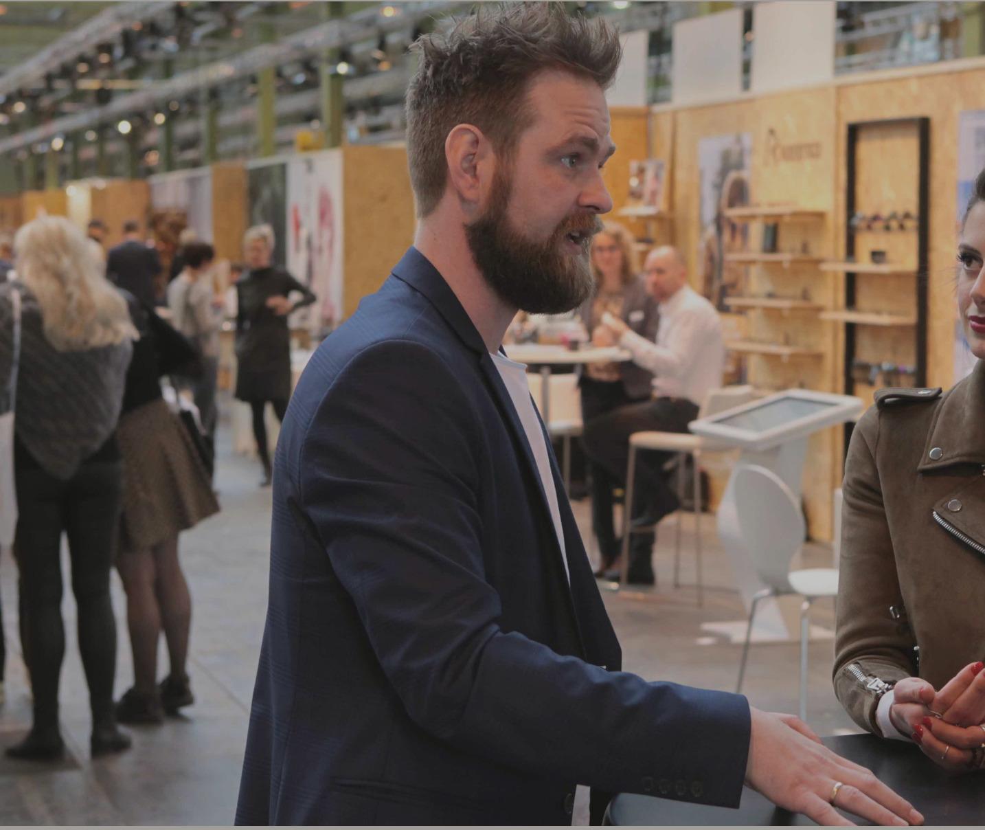 Morten Gammelmark fundador y CEO de Copenhagen Specs