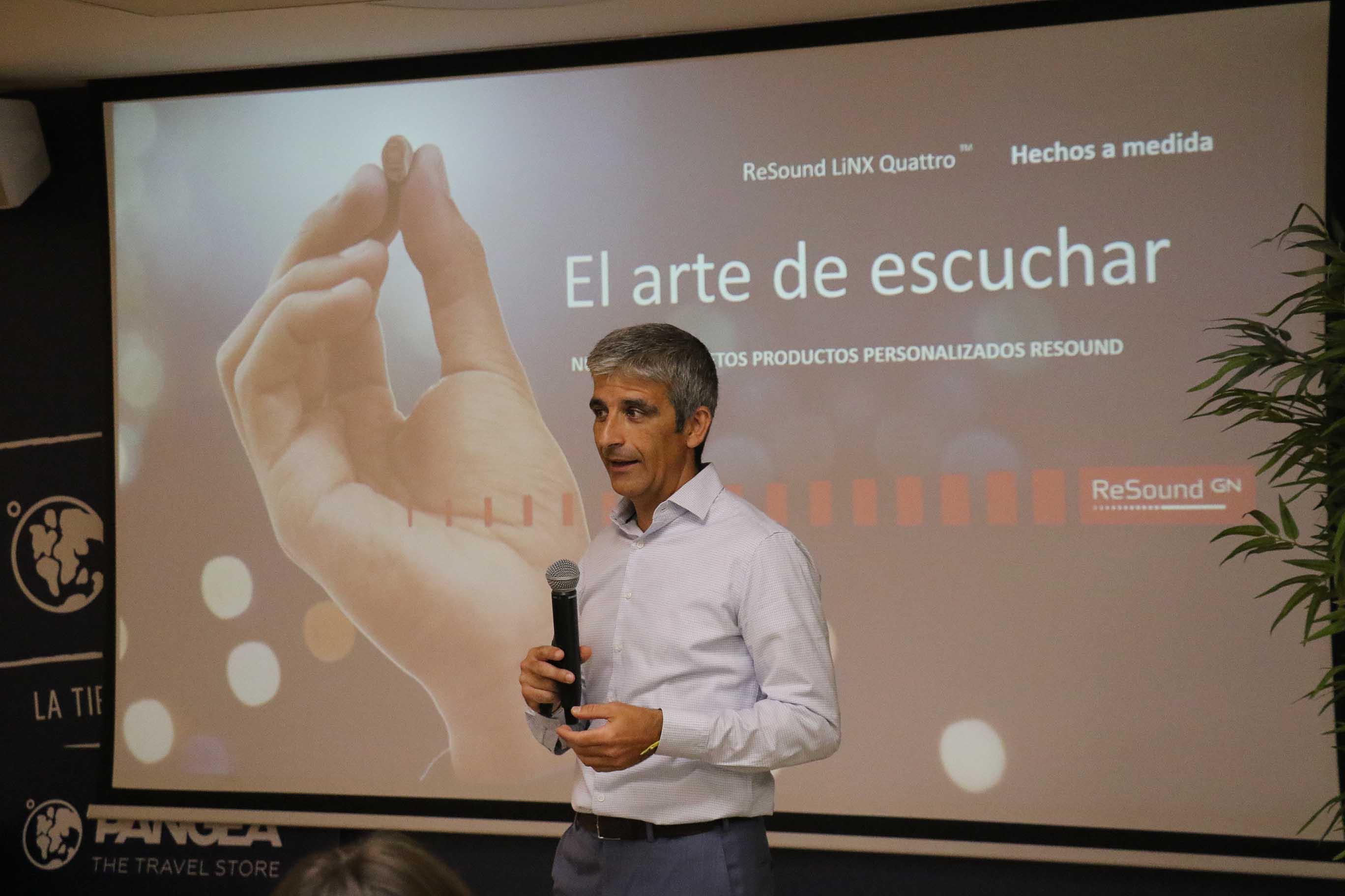 Manuel Yuste director de producto de GN ReSound