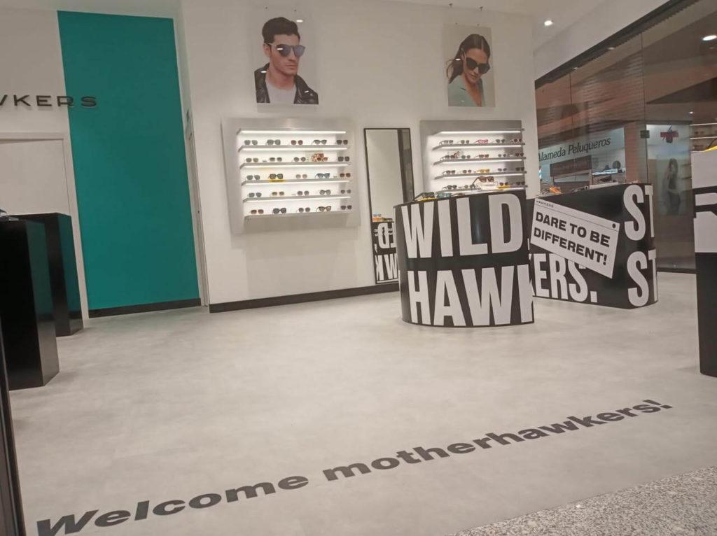Aspecto de la nueva tienda Hawkers en Guadalajara