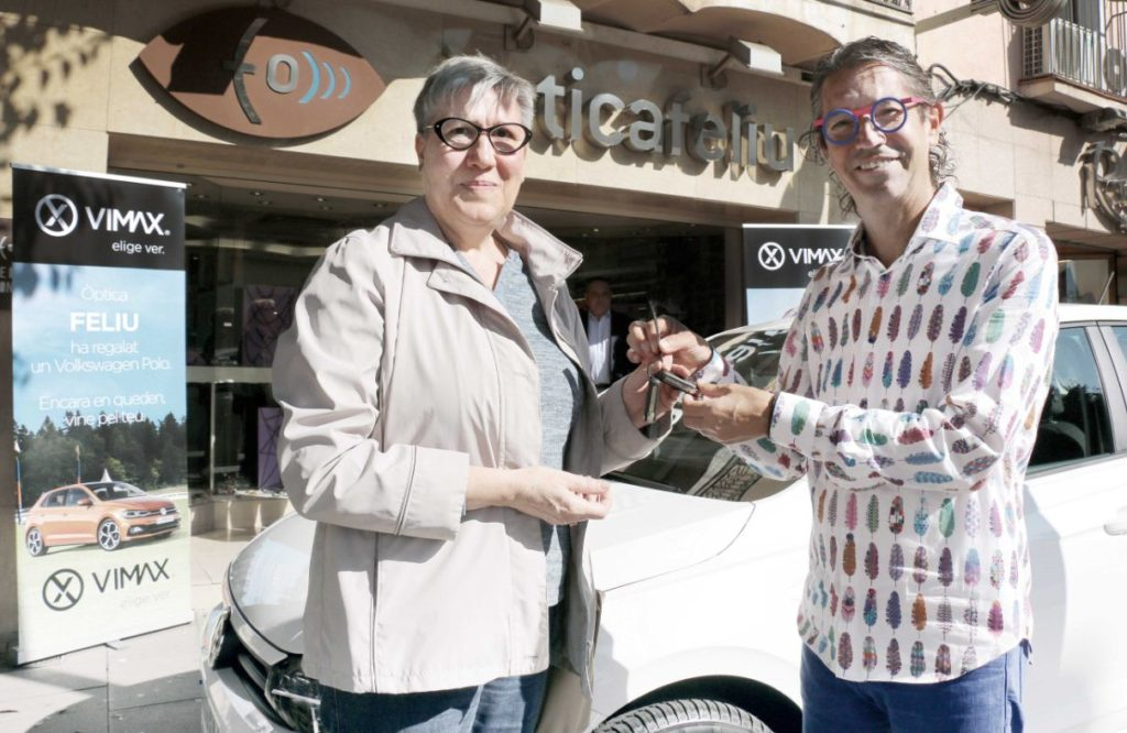 Entrega Volkswagen Polo en Optica Feliu