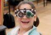 La felicidad de poder contar con unas gafas nuevas