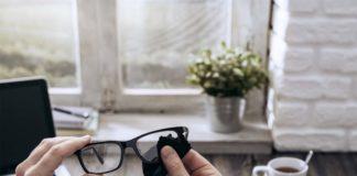 Limpieza gafas coronavirus