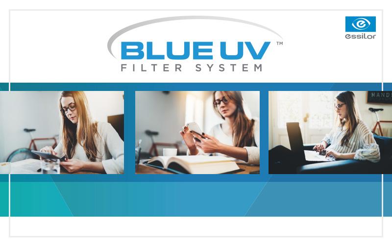 Protección luz azul