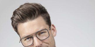 Modelo de gafas masculino de la colección Lite Duet de Silhouette