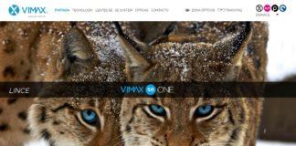 Captura de pantalla de la nueva web vimaxSE