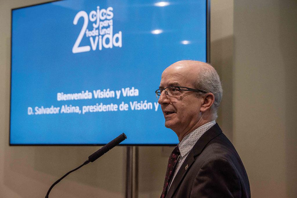 Salvador Alsina presidente de Visión y Vida