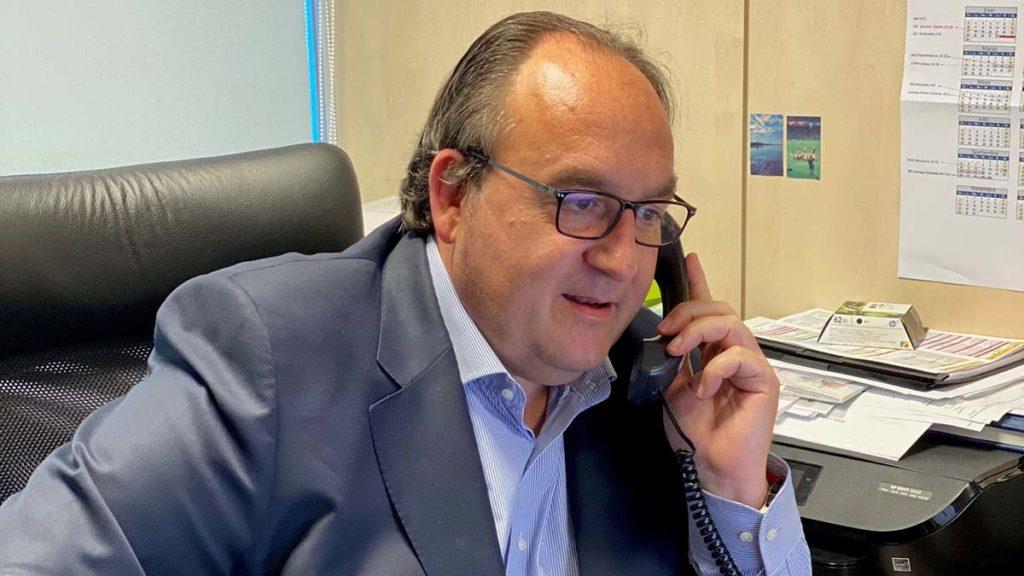 Raúl Bellés director general Topcon España